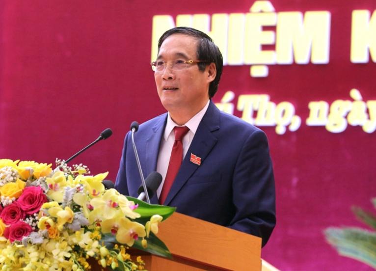 Đồng chí Bùi Minh Châu tái đắc cử Bí thư Tỉnh ủy Phú Thọ