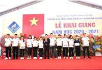Trường Cao đẳng Công nghệ và Thương mại Hà Nội khai giảng năm học mới 2020 - 2021