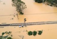 Khắc phục xong hư hại tuyến đường sắt Bắc – Nam sau bão số 9