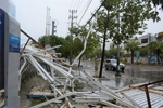 Hơn 2 triệu khách hàng tại miền Trung bị mất điện do bão số 9