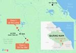 Điện lực huy động máy phát điện hỗ trợ công tác cứu hộ vụ sạt lở vùi lấp người dân tại Quảng Nam