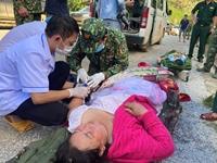 Đã tìm được 33 người mất tích còn sống tại vụ sạt lở thôn 1 xã Trà Leng