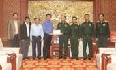 Ban Dân vận Trung ương hỗ trợ Quân khu 4 khắc phục hậu quả mưa lũ