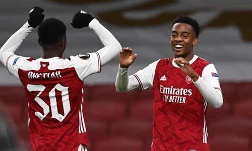 Pháo thủ đại thắng tại Europa League