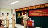 Cục Cảnh sát giao thông ủng hộ đồng bào miền Trung