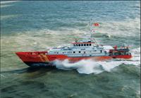 Cứu 03 thuyền viên tàu cá Bình Định gặp nạn trong bão số 9
