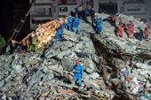 Động đất tại Thổ Nhĩ Kỳ và Hy Lạp Hơn 40 người thiệt mạng tại Thổ Nhĩ Kỳ