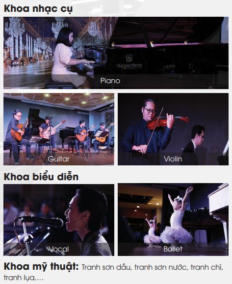 TED SAIGON Trường đào tạo Nghệ thuật chất lượng quốc tế hàng đầu Việt Nam
