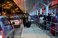 Phân luồng ô tô tại Sân bay Quốc tế Tân sơn Nhất