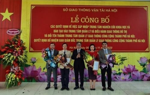 Hà Nội Thành lập Trung tâm Quản lý giao thông công cộng