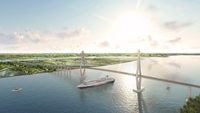 Xây dựng cầu Rạch Miễu 2 nối Tiền Giang và Bến Tre