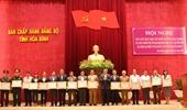 Hòa Bình Quán triệt, triển khai Nghị quyết Đại hội Đảng bộ các cấp