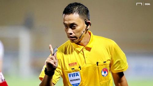 Trọng tài FIFA Ngô Duy Lân bị đình chỉ nhiệm vụ