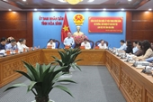 Bộ trưởng, Chủ nhiệm Ủy ban Dân tộc Đỗ Văn Chiến làm việc tại tỉnh Hòa Bình