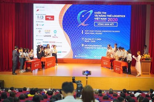 12 đội lọt vào Chung kết Tài năng trẻ Logistics Việt Nam 2020