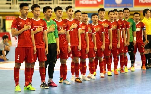 Futsal Việt Nam cạnh tranh vé dự World Cup