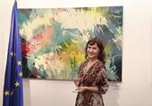 Khai mạc Triển lãm tranh của nữ họa sĩ Ba Lan tại Hà Nội