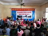 Cộng đồng người Việt tại Thụy Điển ủng hộ đồng bào miền Trung khắc phục hậu quả lũ lụt