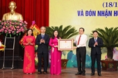 MTTQ Việt Nam tỉnh Thanh Hóa đón nhận Huân chương Độc lập hạng Nhất