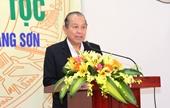 Phó Thủ tướng Thường trực Chính phủ dự ngày hội Đại đoàn kết toàn dân tộc tại tỉnh Lạng Sơn