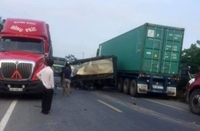 Hà Nam Báo động mất an toàn giao thông trên tuyến đường nối cao tốc