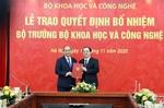 Thủ tướng trao quyết định, giao nhiệm vụ cho tân Bộ trưởng Bộ Khoa học và Công nghệ