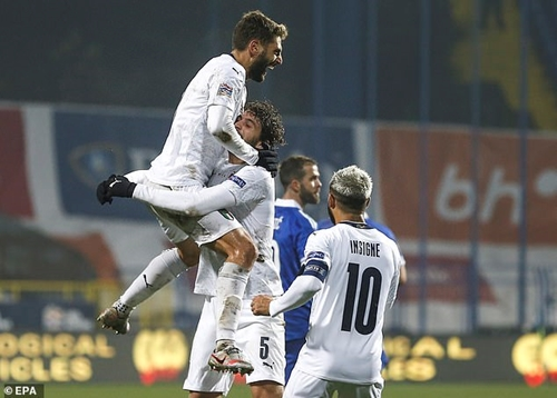 Italia giành vé vào bán kết Nations League