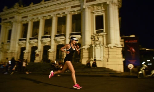 Giải chạy đêm Hà Nội khởi tranh vào ngày 28 11