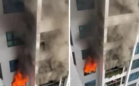 Hà Nội Nấu bếp gas gây cháy tại Chung cư Goldmark City