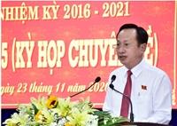 Đồng chí Phạm Văn Thiều được bầu làm Chủ tịch UBND tỉnh Bạc Liêu