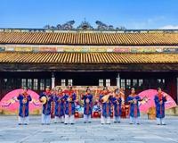 Trình diễn Nhã nhạc, múa cung đình nhân Ngày Di sản Văn hóa Việt Nam