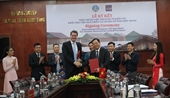 Ký kết Thỏa thuận viện trợ 2,5 triệu USD khắc phục hậu quả thiên tai tại một số tỉnh miền Trung