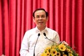 Bí thư Thành ủy TP Hồ Chí Minh Nguyễn Văn Nên theo dõi, phụ trách 6 đơn vị