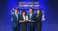 """BIDV nhận giải thưởng """"Ngân hàng SME tốt nhất Việt Nam 2020"""""""