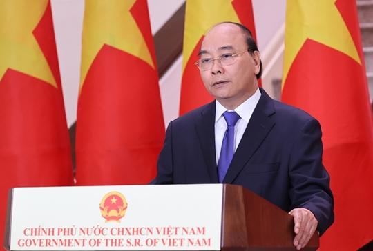 Thủ tướng phát biểu chúc mừng Hội chợ Trung Quốc - ASEAN lần thứ 17