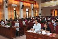 Hà Tĩnh Huyện Can Lộc sơ kết 4 năm thực hiện Chỉ thị 05