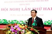 Hội nghị lần thứ 2 Ban Chấp hành Đảng bộ TP Hà Nội Định hướng lâu dài cho cả nhiệm kỳ