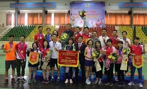 Gần 500 vận động viên tham gia Giải thể thao Công đoàn Viên chức Việt Nam