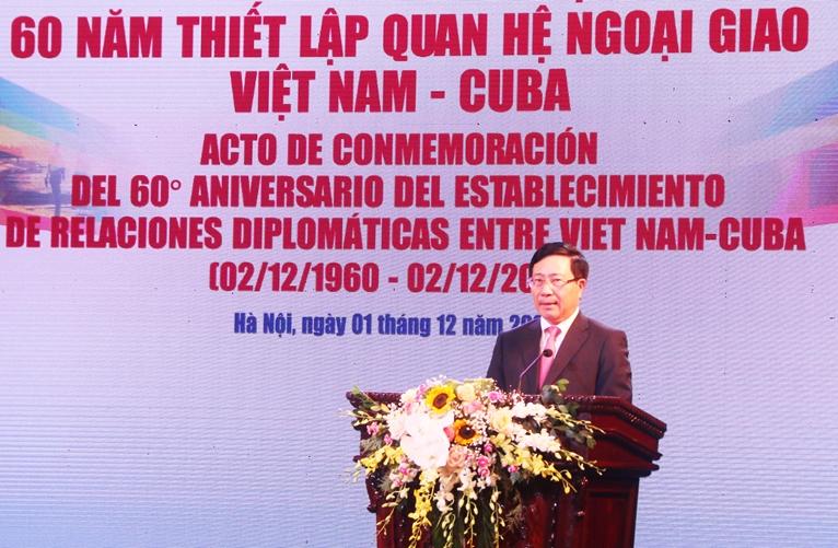 Tiếp tục đưa quan hệ Việt Nam - Cuba đi vào chiều sâu, ổn định, bền vững