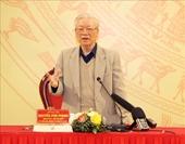 Tổng Bí thư, Chủ tịch nước Nguyễn Phú Trọng chỉ đạo Hội nghị Đảng ủy Công an Trung ương