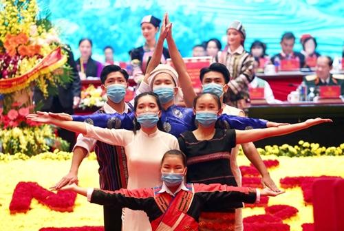 Toàn cảnh Đại hội đại biểu toàn quốc các dân tộc thiểu số Việt Nam lần thứ II
