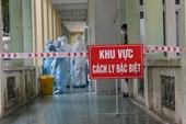 Ghi nhận 1 ca mắc mới COVID-19 nhập cảnh, Việt Nam có 1 366 bệnh nhân