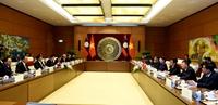 Nâng cao hơn nữa sự phối hợp giữa Quốc hội Việt Nam với Quốc hội Lào
