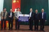 Ủy ban TW MTTQ Việt Nam tặng quà người dân vùng lũ Quảng Trị