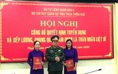 Thừa Thiên Huế Trao quyết định tuyển dụng thân nhân liệt sỹ vụ thủy điện Rào Trăng 3