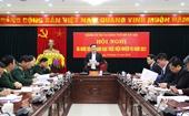 Đảng ủy Bộ Tư lệnh Thủ đô ra Nghị quyết lãnh đạo thực hiện nhiệm vụ năm 2021