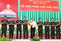 Đồng chí Nguyễn Văn Nên giữ chức Bí thư Đảng ủy Quân sự TP Hồ Chí Minh
