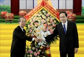 Chủ tịch Ủy ban Trung ương MTTQ Việt Nam chúc mừng Giáng sinh Giáo phận Thái Bình