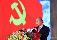 Thủ tướng Nguyễn Xuân Phúc dự lễ khánh thành Tượng đài Bác Hồ với nông dân Việt Nam tại Thái Bình