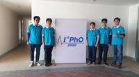 Cả 5 học sinh tham dự Olympic Vật lý quốc tế 2020 đều giành huy chương